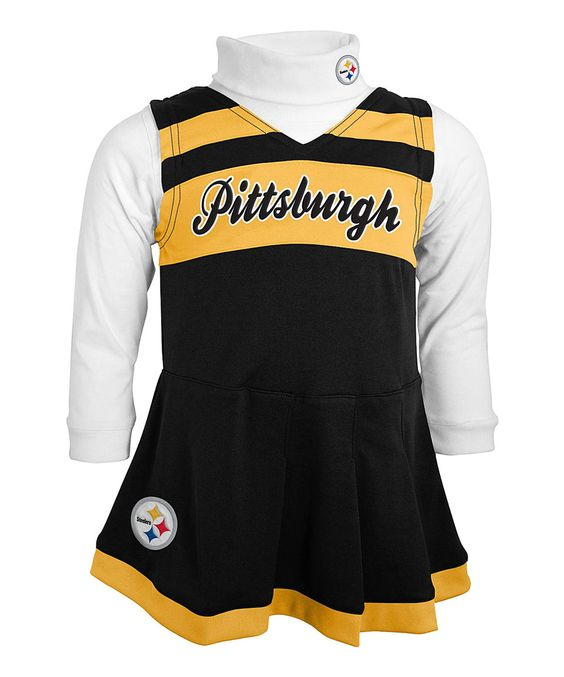 822bc9b2b Pittsburgh Steelers Cheer Jumper - Toddler by Outerstuff