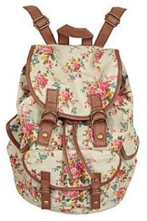 un petit sac à dos vintage!