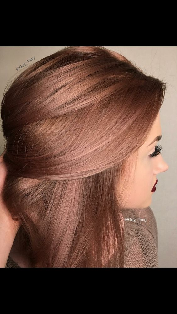 Rose brown | hair- blonde/brunette | Pinterest | Colors ...