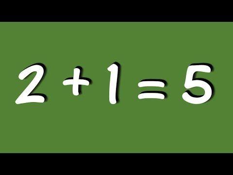 친구들에게 써먹는 신기한 수학 계산 트릭과 수수께끼 Youtube 수학 홈스쿨 교육