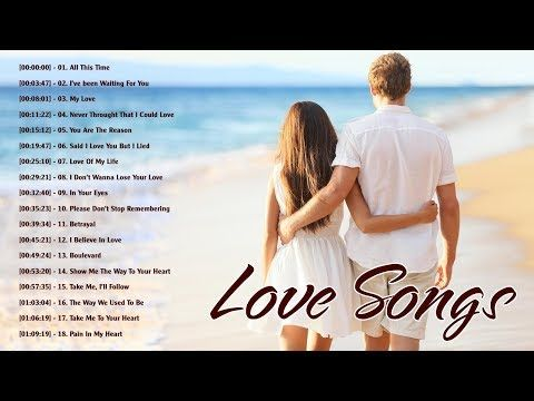 New Love Songs 2019 English Youtube Love Songs Playlist