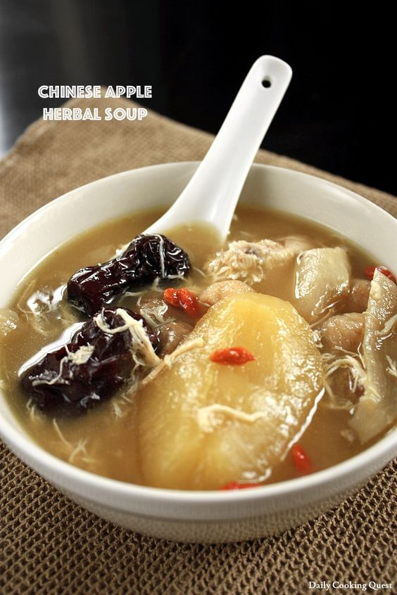 Chinese apple herbal soup recipe soup recipes apples and soups chinese apple herbal soup recipe forumfinder Image collections