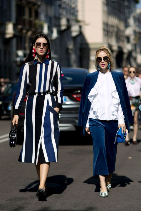 See what the Milan Fashion Week show-goers are wearing