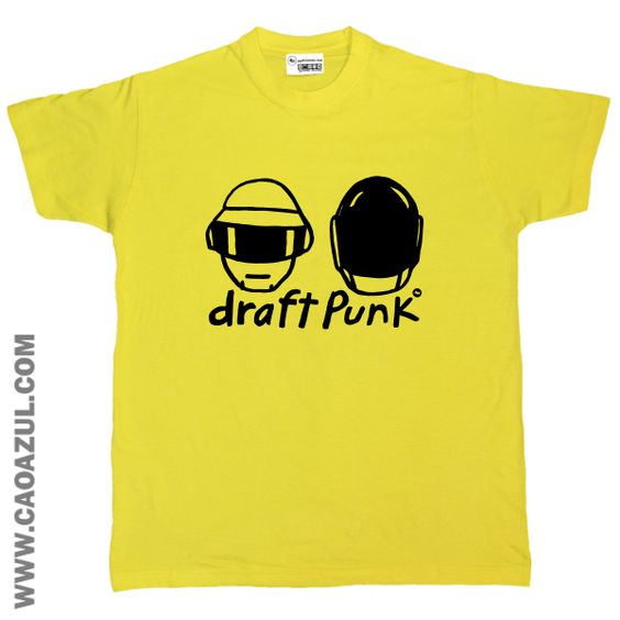 DRAFT PUNK t-shirt