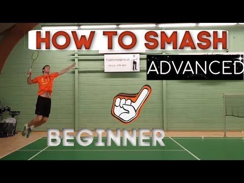 Badminton How To Smash From Beginner To Advanced Step By Step Badminton Badminton Smash Badminton Drills
