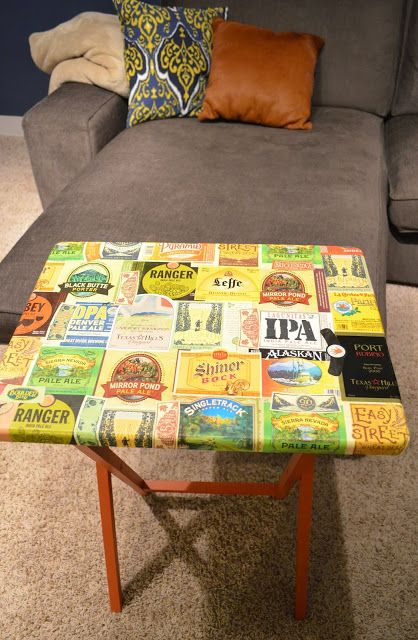 Wine labels, Tv trays and Trays