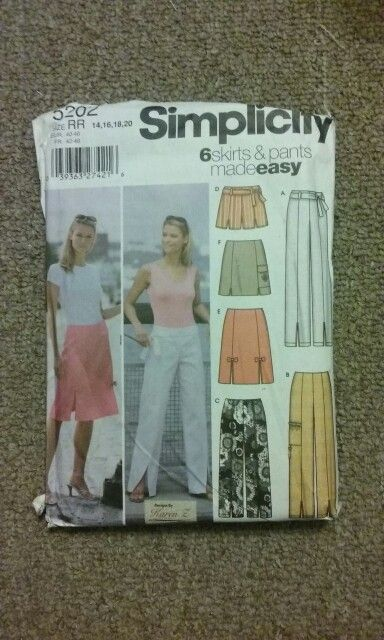 Lynn: simplicity 5202 six skirts and pants (from mom a favorite for Lynn work wardrobe)