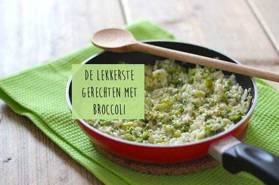 Vandaag laten we jullie onze favoriete gerechten met broccoli zien. Je kunt broccoli natuurlijk gewoon koken en bijvoorbeeld bij je aardappeltjes en vlees serveren maar je kunt er ook zoveel meer mee. Maak bijvoorbeeld eens broccolirijst of hartige muffins met broccoli. Broccolirijst Serveer de broccolirijst bijvoorbeeld met een gebakken kipfiletje, een varkenshaasje of met een...Lees Meer »