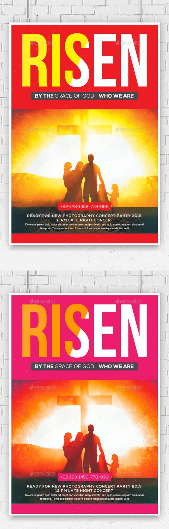 risen church flyer template flyers photoshop and flyer template risen church flyer template photoshop psd invitation easter pageant available here rarr