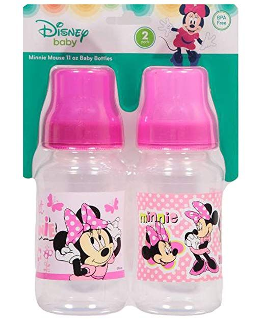 Minnie Mouse 2 Pack 11oz Baby Bottles Review Baby Bottle Review Baby Bottles Bottle