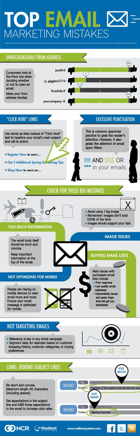 Top Email Marketing Mistakes: Emailmarketing Mistakes, Top Emailmarketing, Emailmarketing Infografia, Email Marketing Infographics, En Emailmarketing, Emailmarketing Seo, Mistakes Emailmarketing