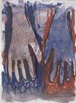 Ohne Titel, Hände, 1984.