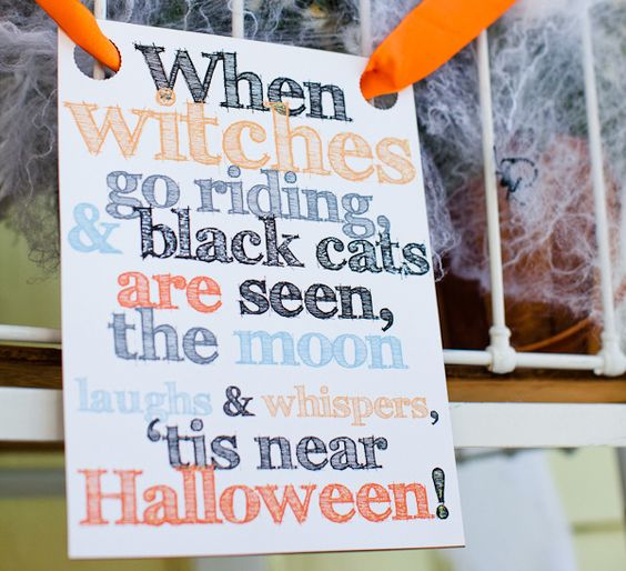 Love this for Halloween