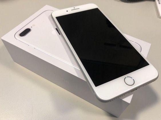 Apple Iphone 8 Plus 256gb Silver Iphone 8 Plus Apple Iphone Iphone