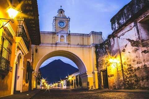 calle del arco Antigua