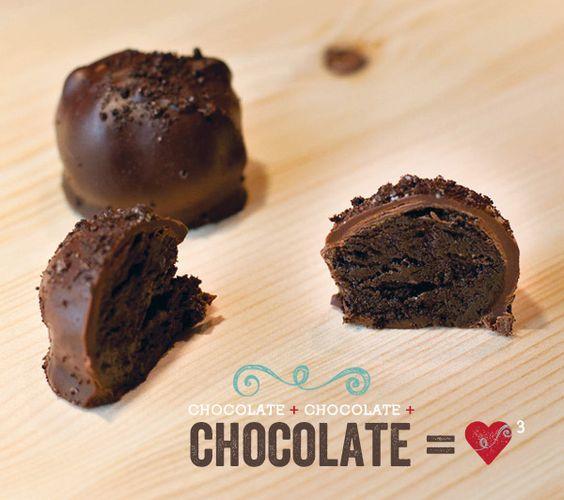 Triple Chocolate Cheesecake Truffles {Recipe}
