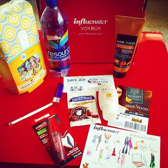 My complimentary #ModaVoxBox from #Influenster.