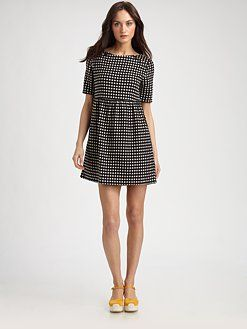 Polka Dot Mini Dress by Ace & Jig #Dress #Polka_Dot #Ace_&_Jig