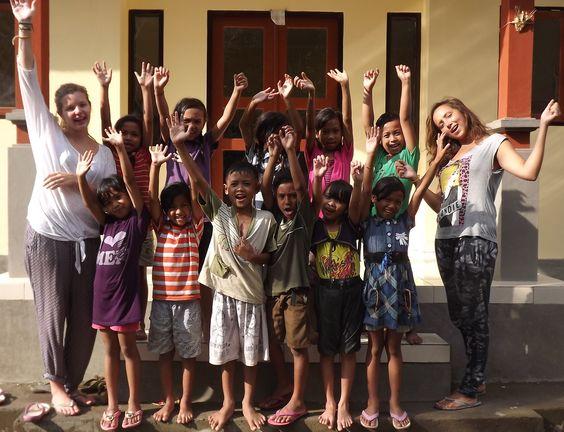 Hands up who's keen to volunteer in Bali?