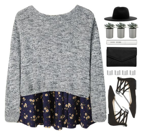 """""""The Ocean ~ Mike Perry"""" by painterella ❤ liked on Polyvore featuring Bodkin, Topshop, Études, Maison Margiela, LULUS, Bobbi Brown Cosmetics, Crate and Barrel and Floralskirts"""