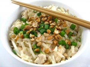 Skinnyfied Chicken Pad Thai - 9 points without peanuts