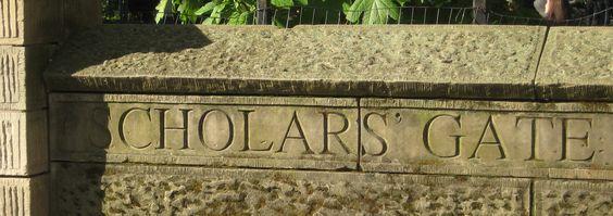 Scholarsgate... puertas de Central Park
