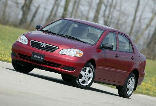 2003–08 Toyota Corolla SE North America '2002–08