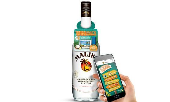 Malibu has launched what it claims is the largest deployment of near field communication (NFC) enabled connected bottles, in 1,600 Tesco stores.