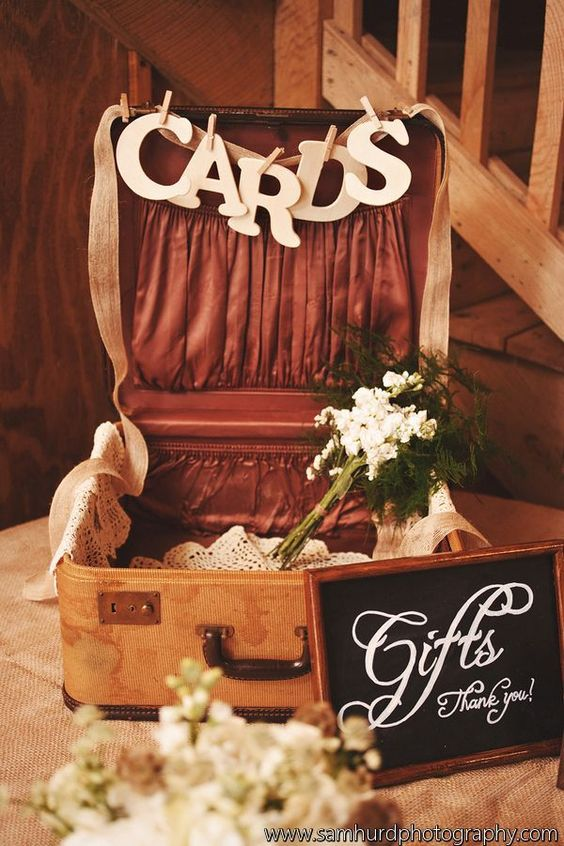 Wedding Gift Card Suggestions : Gift table, Wedding gift tables and Wedding gifts on Pinterest