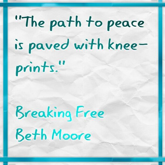 Beth moore, Paths and Peace on Pinterest