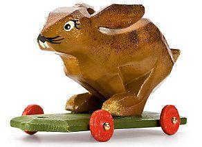 Fahrtier flotter Hase