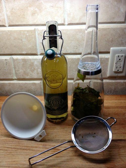 Basil Lemon Drop - Slight variation on the classic lemon drop. Also ...