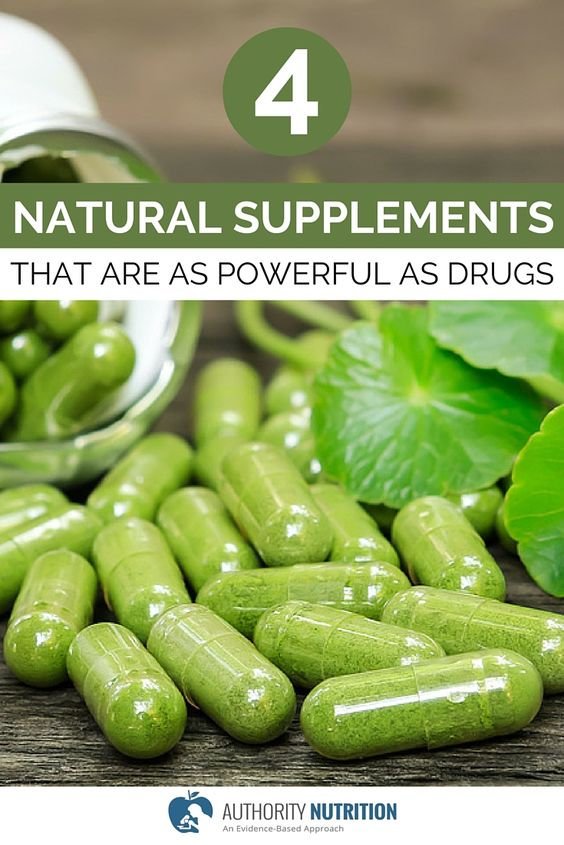 Some supplements can have powerful effects. Here is a list of 4 natural supplements that are just as effective as pharmaceutical drugs. http://authoritynutrition.com/4-supplements-as-powerful-as-drugs/