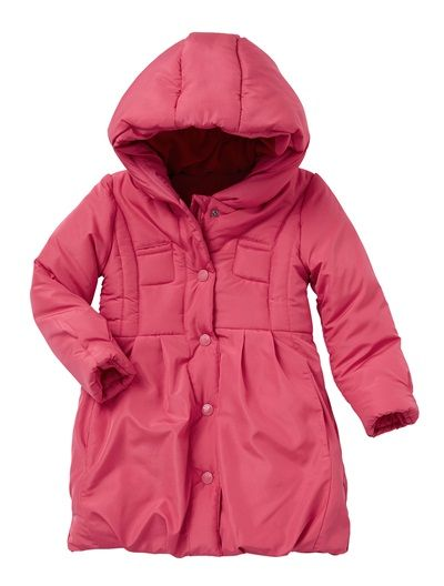 Girl&39s Lined Padded Jacket CHARCOAL DARK PINK GREY PRINT | AW14