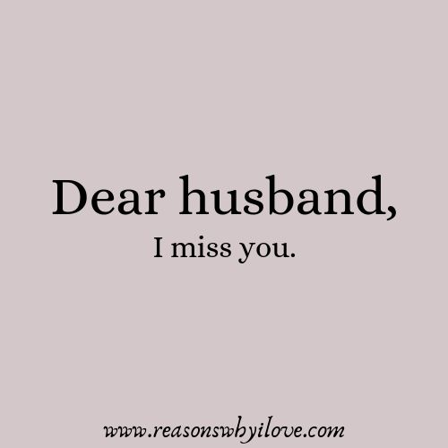 I Miss You My Husband Quotes | Prayers for my Husband | Missing you