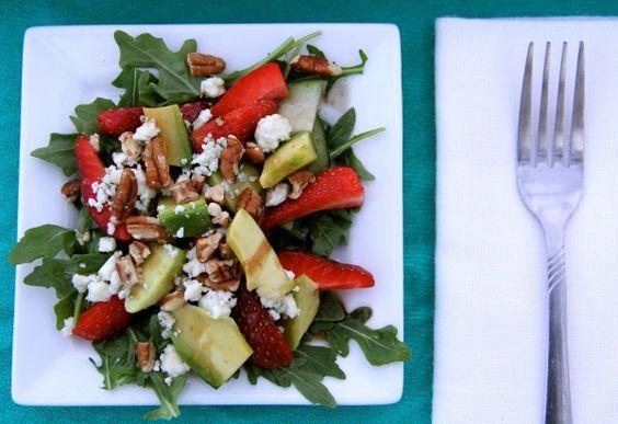 Strawberry AvocadoSalad