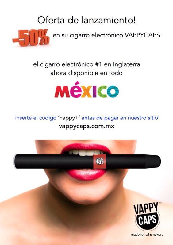 Ahora disponible en todo México! vappycaps.com.mx