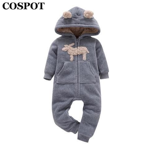 Baby Kinder Jungen Mädchen Romper Jumpsuit Bodysuit Outfits Kleidung Winter 2019