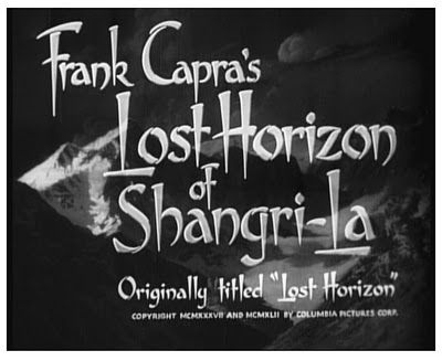 Title card for 1942 reissue of Lost Horizon