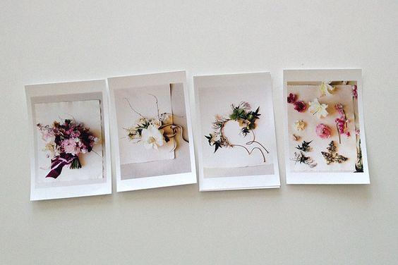 flowers / polaroids / amy merrick for bhldn