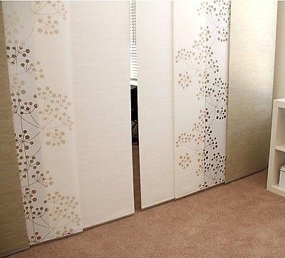 Details about Ikea ANNO SANELA Beige Natural Window Panel Curtain ...