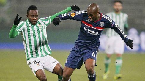 8. Cedrick - El extremo congoleño del Real Betis, Cedrick, acabó explotando a final de temporada tras una campaña irregular. El jugador conoce la categoría y podría ser uno de los más destacados del equipo.