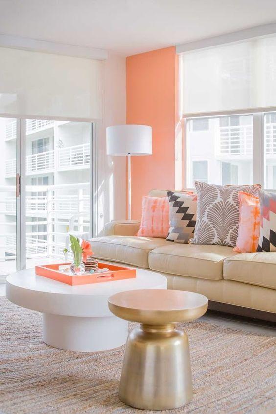 Sala Coral Colores Para Pintar Una Sala Pequena Colores Para Pintar Una Sala Modern Pintar La Sala Colores Para Salas Modernas Decoracion De Interiores Salas
