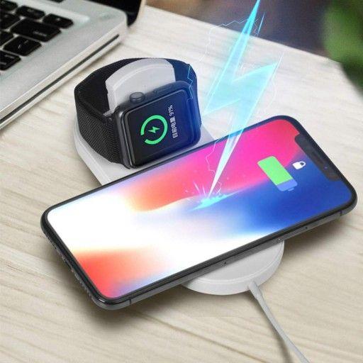 Ladowarka Indukcyjna Qi Apple Watch Iphone Samsung 7773160748 Oficjalne Archiwum Allegro Wireless Charging Pad Apple Watch Iphone Wireless Charger