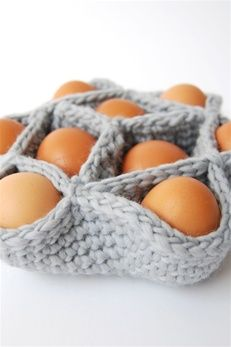 Crochet Egg Basket : ... Crochet Pinterest Easter Baskets, Crochet Patterns and Free