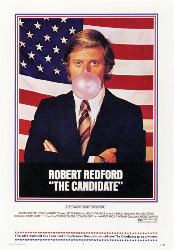 Few films about American politics have held up as well as this one -- a tribute to a perceptive script, geat directing and an outstanding cast. Redford is tremendous as the idealistic candidate turned befuddled automaton.