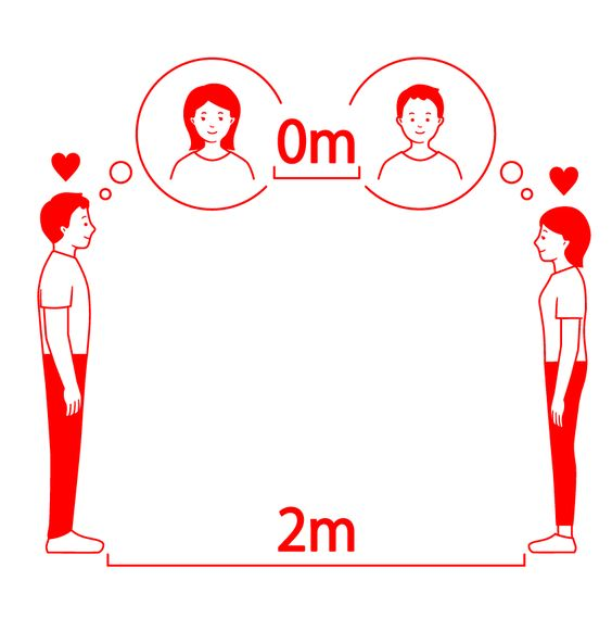 """¿Entenderemos de una vez lo que significa la """"distancia social""""?"""