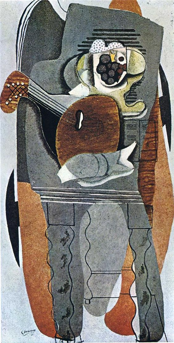 GEORGES BRAQUE The Gray Table (1930)
