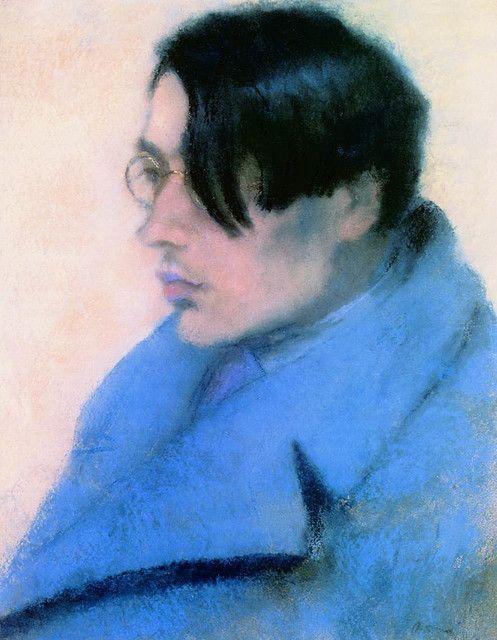 Portrait of Lorinc Szabo by Jozsef Rippl-Ronai