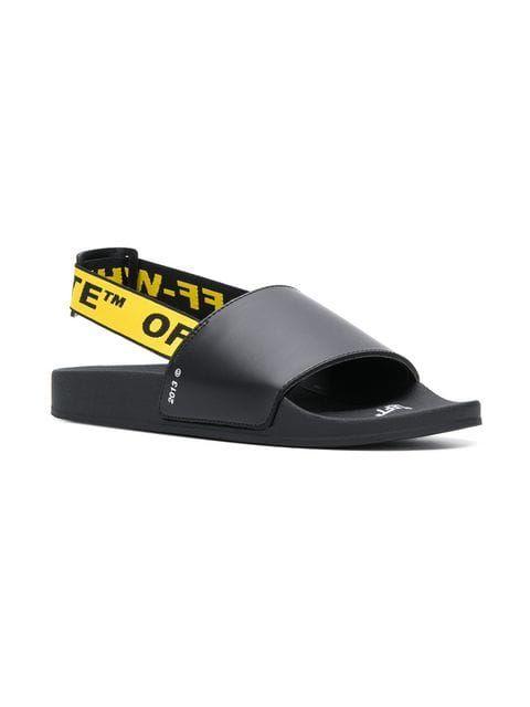 Off-White Industrial Logo Strap Sandals